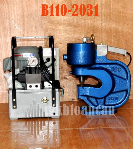 Hình ảnh máy đột lỗ troàn Oval B110-2031 Hàn Quốc.